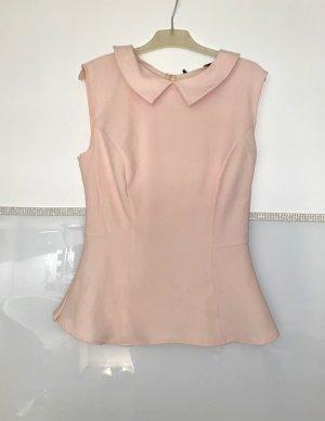 elegante ärmellose Bluse mit Reißverschluss NEU gr. 36/38