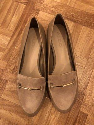 Aldo Slip-on Shoes beige-cream
