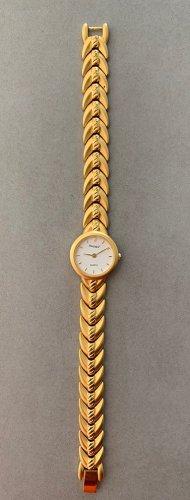 Elegante Armbanduhr von Regent für Damen   10 Mikron Vergoldet