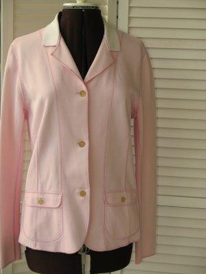Rivamonti Blazer corto rosa-bianco sporco Cotone