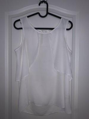 C&A Clockhouse Silk Blouse white