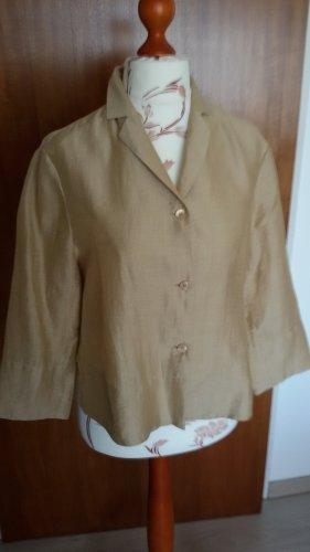 Adagio Blouse brun sable tissu mixte