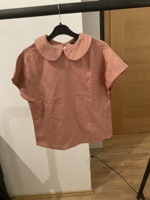 Cols de blouses rose