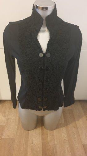 Nara Camicie Bluzka ze stójką czarny