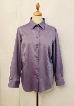 Elegante Bluse leicht tailliert von Walbusch,Hellila, Gr.40, Neuwertig!!!