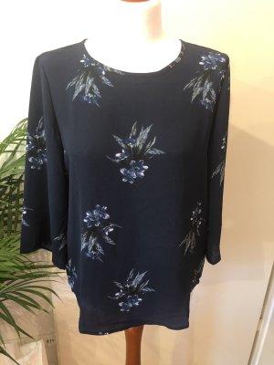 Elegante Bluse mit Blumen, Größe S