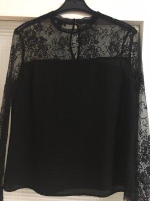Elegante Bluse mit Spitze