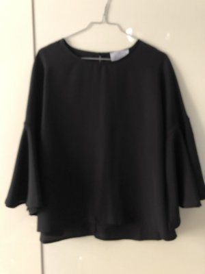George J. Love Slip-over Blouse black