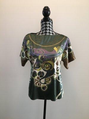 Elegante Bluse Shirt Gr. 38 bunt