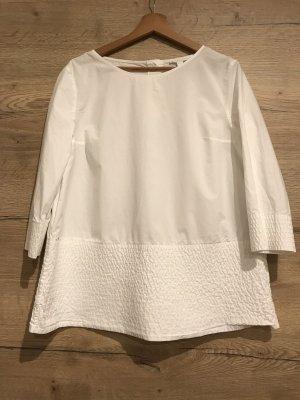 COS Bluzka oversize biały