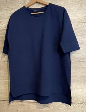 COS Blusa ancha azul oscuro
