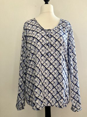 Elegante Bluse von Street One mit Karo-Print