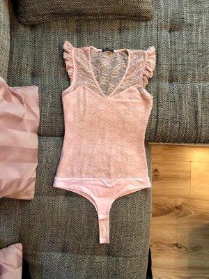 Body koszulowe różany-jasny różowy
