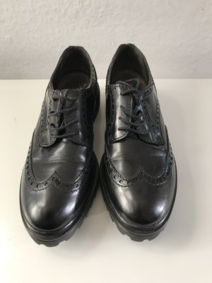 Wingtip Shoes black leather