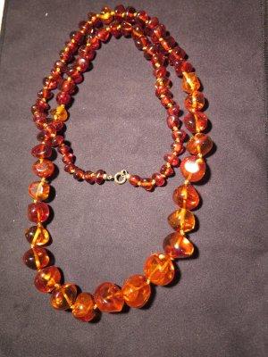 Collier Necklace dark orange