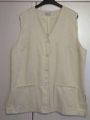 Larissa Sports Vests cream polyester