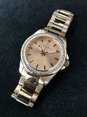 Yves Camani Reloj analógico color rosa dorado