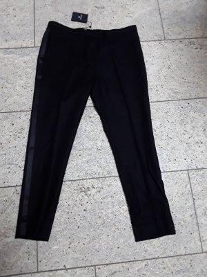 Gant Pantalon chinos noir laine