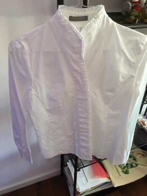 Christian Berg Stand-Up Collar Blouse white