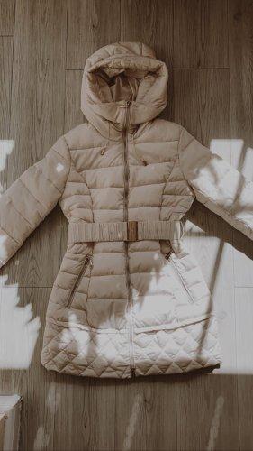 Manteau en duvet multicolore