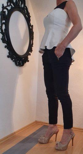 elegante enge Hose, schwarz, Zara, Größe M