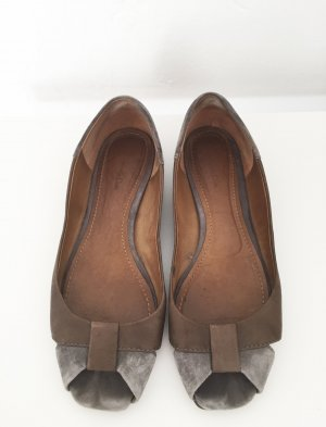 Elegante flache Schuhe von Massimo Dutti