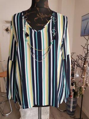 Elegante gestreifte Langarm Bluse von Canda C&A
