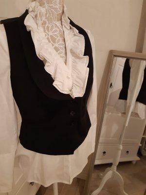 s.Oliver Selection Omkeerbaar vest zwart