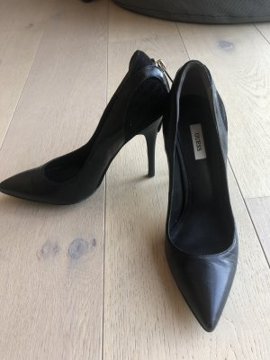 Guess High Heels black leather