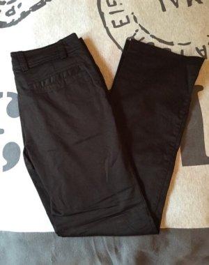 Elegante H & M Stoffhose schwarz