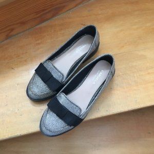 elegante halbschuhe loafers 37