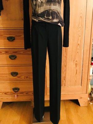 Elegante hochwertige schwarze Stoffhose von *narciso rodriguez* - Gr. 36/38 -100% Wolle