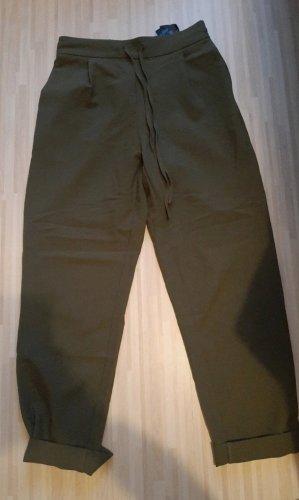 Pieces Jersey Pants green grey