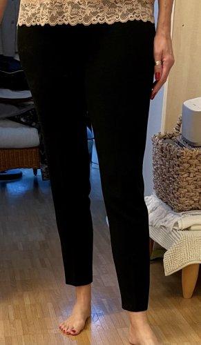 blue Stretch broek zwart