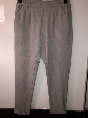 Takko Fashion 7/8-broek wit-grijs