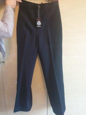 Unbekannte Marke Pantalon en laine noir laine