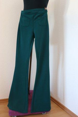 SheIn Pantalon de costume vert foncé