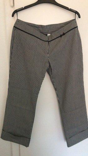 0039 Italy Pantalon fuselé blanc-noir