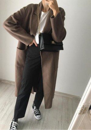 Massimo Dutti Pantalón de lana negro