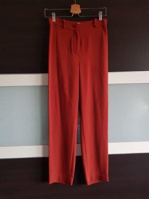 Elegante Hose in Terracotta-Farbe, Größe XS
