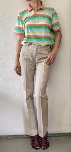 Akris punto Pantalone a sigaretta beige chiaro-crema