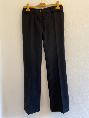 Dolce & Gabbana Woolen Trousers black-dark grey wool