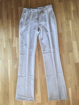 Max Mara Pantalon en laine beige clair laine
