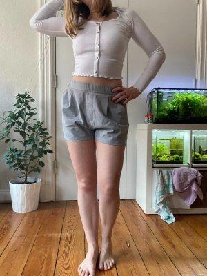 Elegante Hose von Pull & Bear Gr.L Hellgrau Shorts Business Look