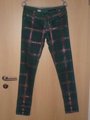 Tommy Hilfiger pantalón de cintura baja caqui Algodón