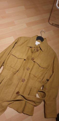 Massimo Dutti Safari Jacket sand brown