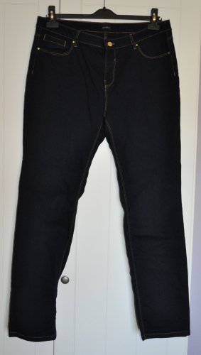 Sixth Sense Jeans a gamba dritta blu scuro Cotone