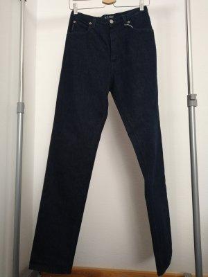 Armani Jeans Jeans coupe-droite bleu foncé coton