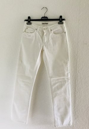 Acne Jeans Tube Jeans white cotton