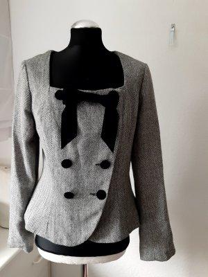 Collectif Vintage Short Jacket white-black
